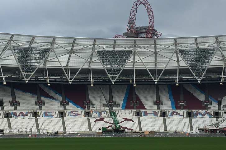 London Stadium. LondonFootballInternational.com