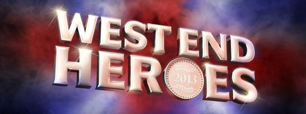 West End Heroes in London is a musical gala performance, in aid of Help for Heroes, celebrates the UK's finest military musicians and the greatest West End shows.