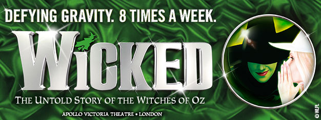 Experience Wicked in London - a musical about witches, magic and two unlikely friends. Wicked has won over 100 awards. Book your tickets online!