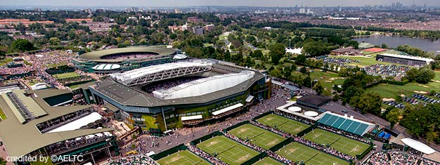 Visit the Wimbledon Lawn Tennis Museum: Exciting films, easy-to-use touch screens and free audio guides in 10 languages. Book a guided tour. Buy here!