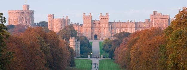 Heldagstur rundt London inkl. et besøk til Windsor Castle og Hampton Court Palace. Bestill billettene dine her!