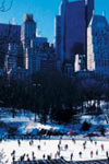 Patinage au Wollman Rink de Central Park