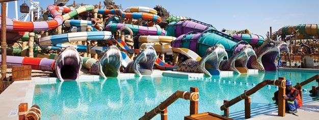 Skip the line to Yas Waterworld with prebooked tickets! 43 rides and slides! The tour includes transfer from your hotel in Dubai. Book tickets online!