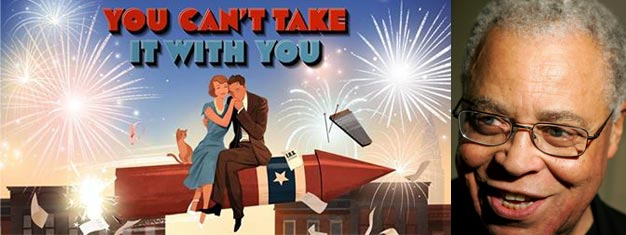 Join James Earl Jones in You Can't Take It With You on Broadway in New York. Book your tickets for You Can't Take It With You in New York here!