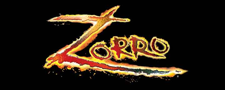Zorro - den legendariske, maskerte helten. Se den helt nye musikalen i London som bygger på historien om Zorro. Musikk av Gypsy Kings! Rabatterte billetter til Zorro The Musical kjøper du her!