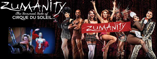 ZUMANITY by Cirque du Soleil in Las Vegas is Part burlesque and part cabaret and a night you'll never forget. Tickets for ZUMANITY by Cirque du Soleil in Las Vegas here!