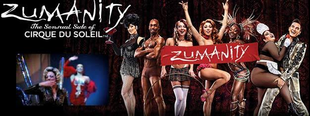 ZUMANITY del Cirque du Soleil a Las Vegas è metàburlesco, metà cabaret e senza dubbiouna notte indimenticabile. Prenota i tuoi biglieti perZUMANITY del Cirque du Soleil a Las Vegas qui!