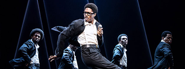 Ain't Too Proud is the electrifying new musical that follows The Temptations' extraordinary journey. Book your tickets for the new Broadway musical here!