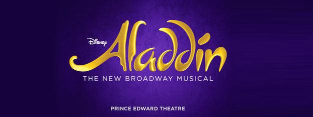 Boek vooraf uw tickets voor de nieuwste musical hit Aladdin van Disney, als deze naar Londen komt in juni 2016. Het is een magische musical voor de hele familie!