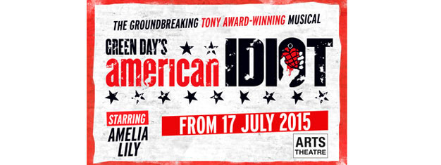 Experience the hit musical American Idiot in New York! Based on Green Day's Grammy Award-winning album. Tony Award winner. Book your tickets online!