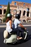 Around Rome by Piaggio