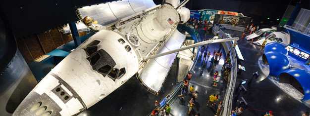 Enjoy a full-day tour to Kennedy Space Center! Transfer included. Don't miss the chance to feel like a real astronaut, book your tickets from home!