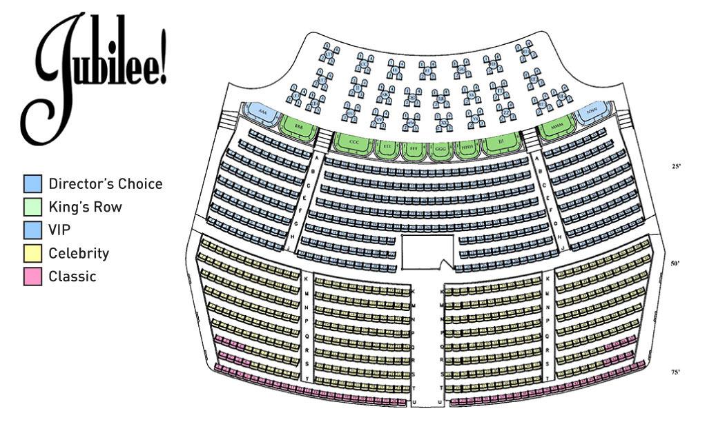 Tickets For Jubilee Las Vegas At Ballys Jubilee In Las