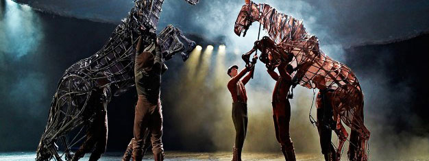 At Inside the Horse at New London Theatre you will go behind the scenes at the international blockbuster WAR HORSE. Book tickets for Inside the Horse here!