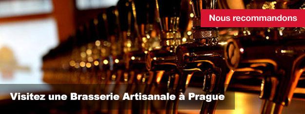 Visitez une Brasserie Artisanale à Prague et dégustez la meilleure bière de la République Tchèque. Si vous souhaitez goûter la célèbre bière Tchèque, achetez vos billets pour une visite guidée ici!