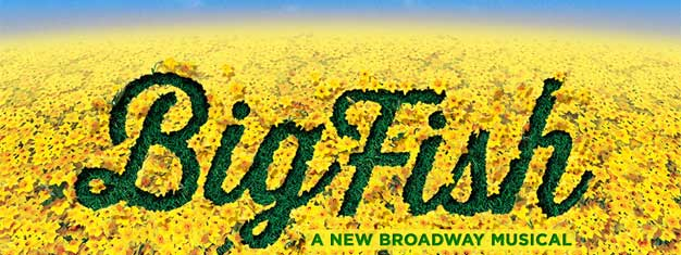 BIG FISH the new musical on Broadway in New York is a musical full of life, adventure and stories bigger than life. Book tickets for BIG FISH in New York here!
