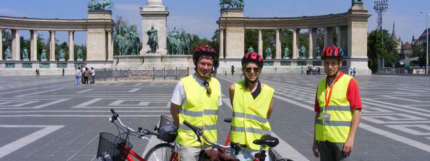 Take a 3 hour bike tour with local guide. Experience both Buda and Pest. Short stop at the Parliament. Guaranteed small tour group. Book tickets now!