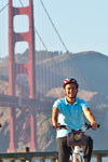 Golden Gate-bron till Sausalito - cykel sightseeing