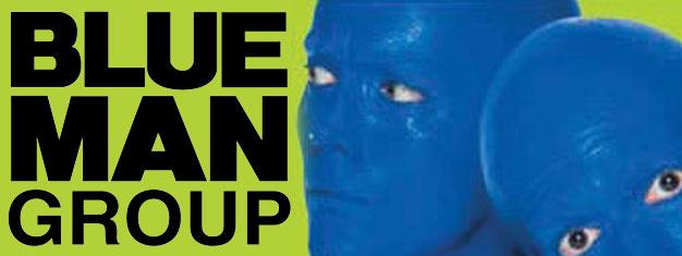Oplev The Blue Man Group i New York! Det er en forestilling der skal ses! Sikre dig dine billetter hjemmefra og forbered dig på at blive forbløffet!