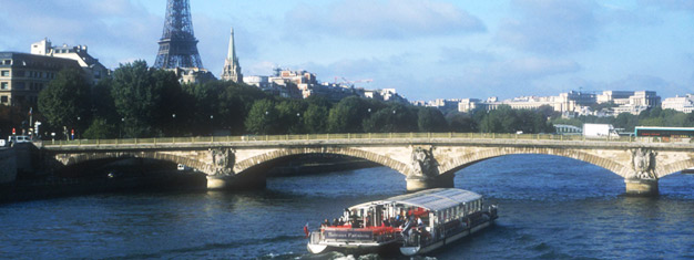 Enjoy a 3-hr sightseeing tour around Paris and see all the major attractions. Incl. 1-hr cruise on the Seine. Book your tickets online!