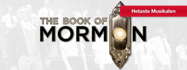 Biljetter till The Book of Mormon i London. Se denna roliga och galna musikal hämtad från Broadway, New York. Av teamet bakom The South Park. Boka biljetter här!