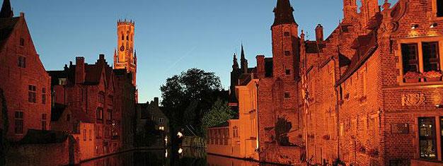 Tag på en tur til historiske Bruges, en af Europas mest charmerende byer. Transport fra/til Amsterdam inkl. Bestil din tur til Bruges her.