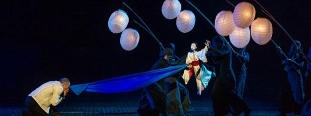 Madam Butterfly, operaen af Puccini, vil blive opført på London Colliseum i London. Bestil billetter til Madam Butterfly på London Colliseum i London her!