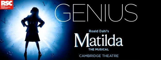Experience Matilda the Musical in London! Children and adults alike will love the story of the special little girl with an extraordinary imagination.