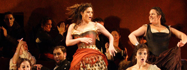 "The opera ""Carmen"" on Royal Opera House in London by Georges Bizet. Book tickets to Carmen in London here!"