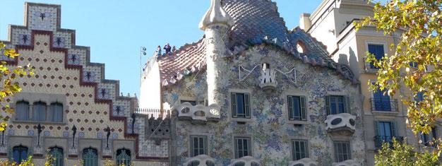 Navštivte Dům Batlló v Barceloně. Zde si kupte lístky na prohlídku Domu Batlló a přeskočte extrémně dlouhé řady před Gaudího Domem Batlló v Barceloně!