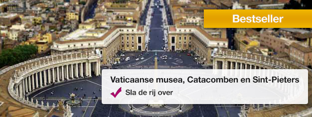Bezoek de Vaticaan Musea, de Vatacombs en de St. Pieter Basiliek tijdens deze populaire tour. Boek uw tickets vanaf thuis en vermijdt alle wachtrijen.