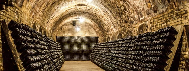 Book a full-day tour from Paris to the Reims region! Visit a champagne and wine cellar, taste champagne and get a tour of Reims. Lunch is included.