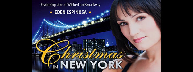 Christmas in New York the Musical is back in Londons West End with Eden Espinosa. Book your tickets for Christmas in New York the Musical in London!