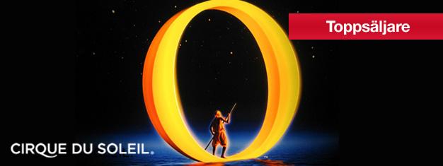 """Biljetter till Cirque du Soleil's succé """"O"""" på The Bellagio i Las Vegas! Försäkra dig om att skaffa biljetter till """"O"""" på the Bellagio i Las Vegas! Boka här!"""