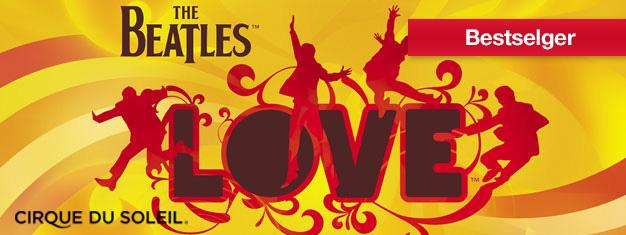 LOVE på The Mirage i Las Vegas feirer den musikalse arven til Beatles. LOVE forener magien til Cirque du Soleil med et av tidenes mest elskede rockeband. Billetter til LOVE i Las Vegas her!