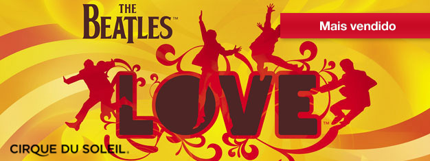 O espetáculo LOVE está em cartazno The Mirage, em Las Vegas. Esse espetáculo é uma celebraçãodo legado musical do grupo de rock mais querido de todos os tempos, os Beatles. Ingressos para o espetáculo LOVE, em Las Vegas, aqui!