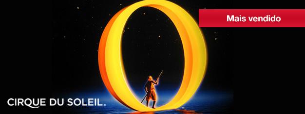 """O espetáculo """"O"""", do Cirque du Soleil, é um grande sucesso no Bellagio, em Las Vegas, e não é à toa que tá fazendo tanto sucesso. Se você estiver pensando em visitar Las Vegas, você tem que assistir""""O"""". Para comprar ingressos para o espetáculo """"O"""", no Bellagio, em Las Vegas, clique aqui!"""