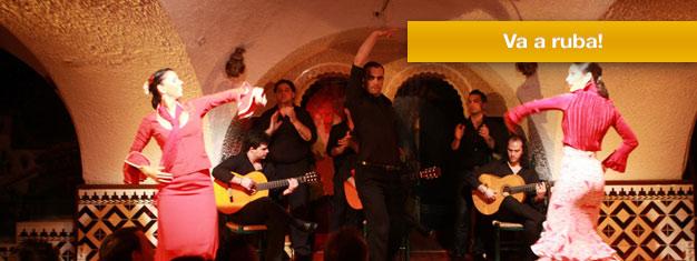 Prenota i tuoi biglietti per un bellissimo spettacolo di Flamenco al Tablao Cordobes a Barcellona, uno dei più importantitablaos di Spagna.