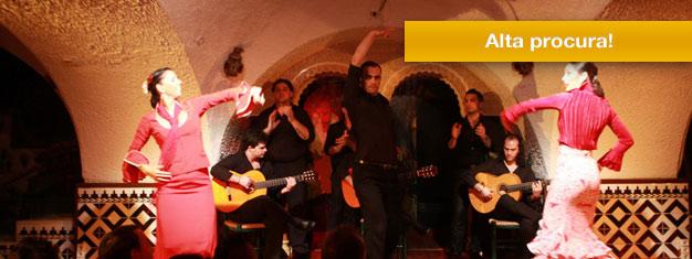 Reserve seus tickets para um belíssimo show de flamenco no Tablao Cordobés em Barcelona, um dos mais famosos em toda a Espanha!