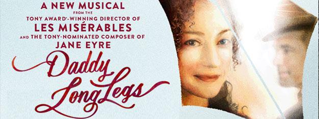 Découvrez la nouvelle comédie musicale Daddy Long Legsadapté du classique de la littérature qui a inspiré le film de 1955 avecFred Astaire. Réservez vos billets maintenants !