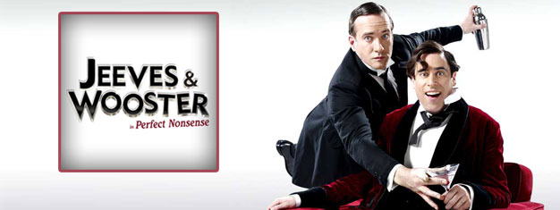 Jeeves and Wooster in London is a brand new play and comedie. Book your tickets for Jeeves and Wooster in London here!!