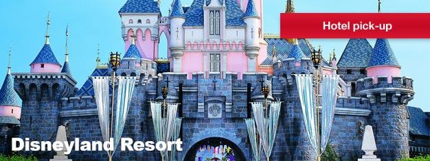 Besøg stedet, hvor drømme bliver til virkelighed til en hel dag med sjov og eventyr! Disneyland er det perfekte sted at tilbringe en dag din familien vil elske!