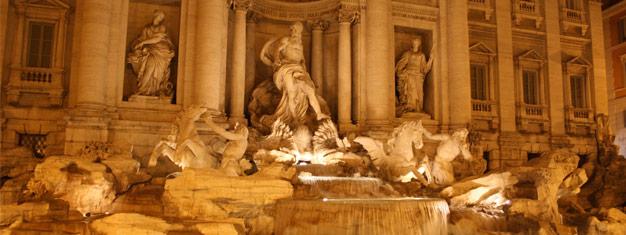 Kommen Sie mit auf eine wunderbare Führung durch Rom um die schönsten Brunnen zu sehen! Piazza Navona, Pantheon, Trevi-Brunnen. Tickets online buchen!