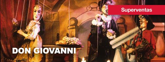 Don Giovanni-Teatro de Marionetas en Praga es una verdadera especialidad Praga. Compra aquí tus entradas para Don Giovanni en Praga!