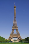 Tour Eiffel - Billet coupe-file & visite en bus de Paris