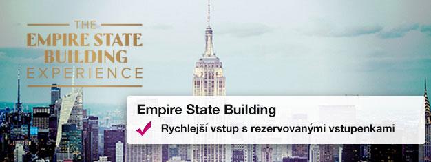 Už jste někdy viděli New York z výše? Zde je vaše šance zažít kouzelný pohled na NY panorama! Kupte si vstupenky na Empire State Building zde!