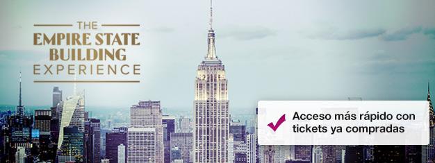 Salta las filas el Empire State Building con entradas anticipadas! Disfruta la vista sobre Nueva York! Compra tus entradas al Empire State Building aquí!