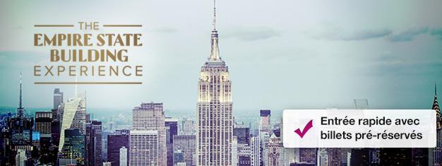 -Passez la file de labilletterie pour l'Empire State Building avec vos billets pré-réservés ! Achetez vos billets pourl'Empire State Building ici !