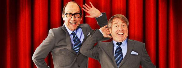 Eric and Little Ern i London er en meget morsom komedie kendt fra BBC. Billetter til Eric and Little Ern i London kan med fordel købes her!