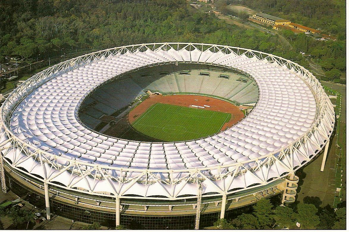 Stadio Olimpico Rome. ItalienFotboll.se